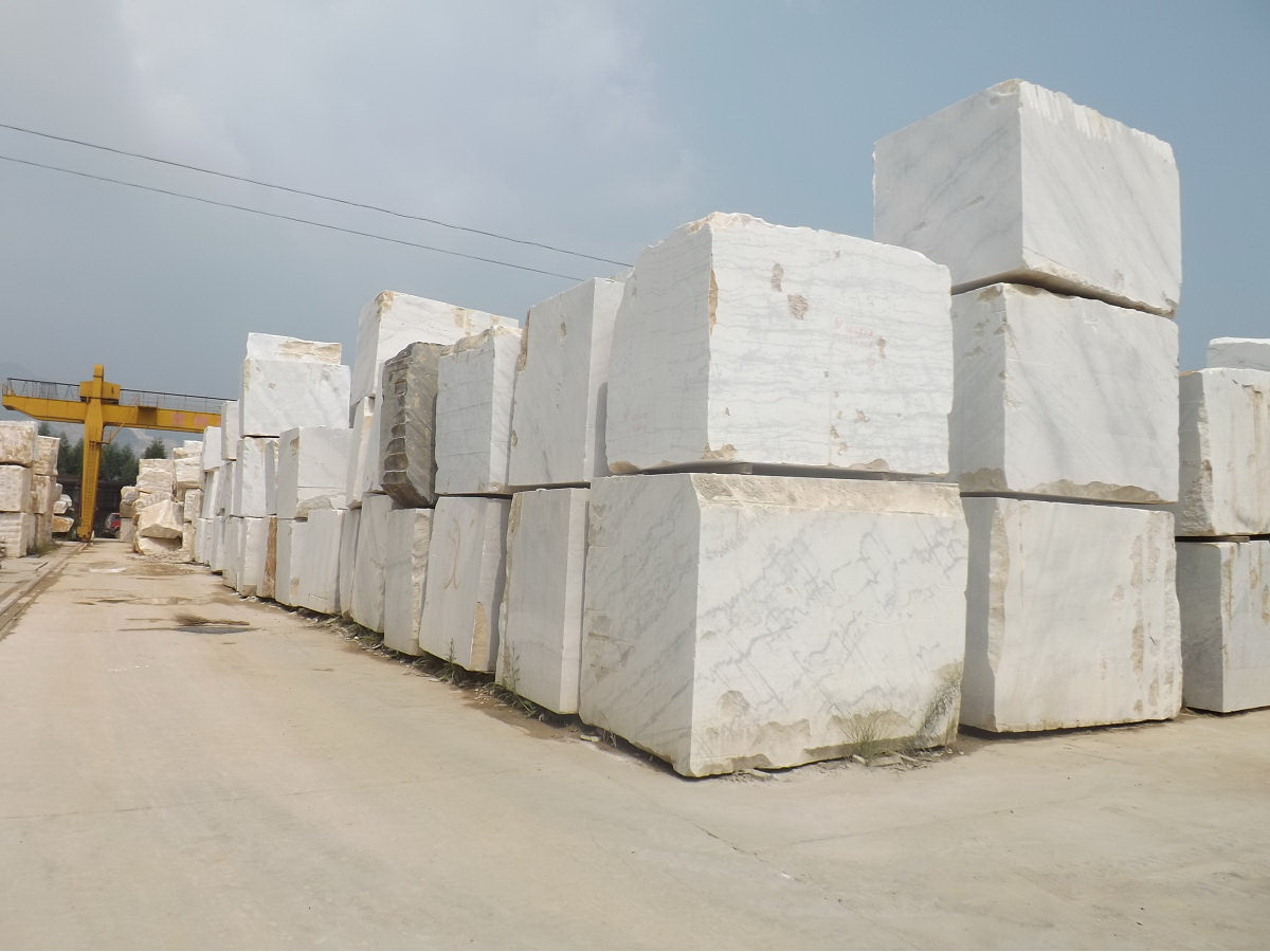 Guangxi White Chinese Marble Quarry (1)