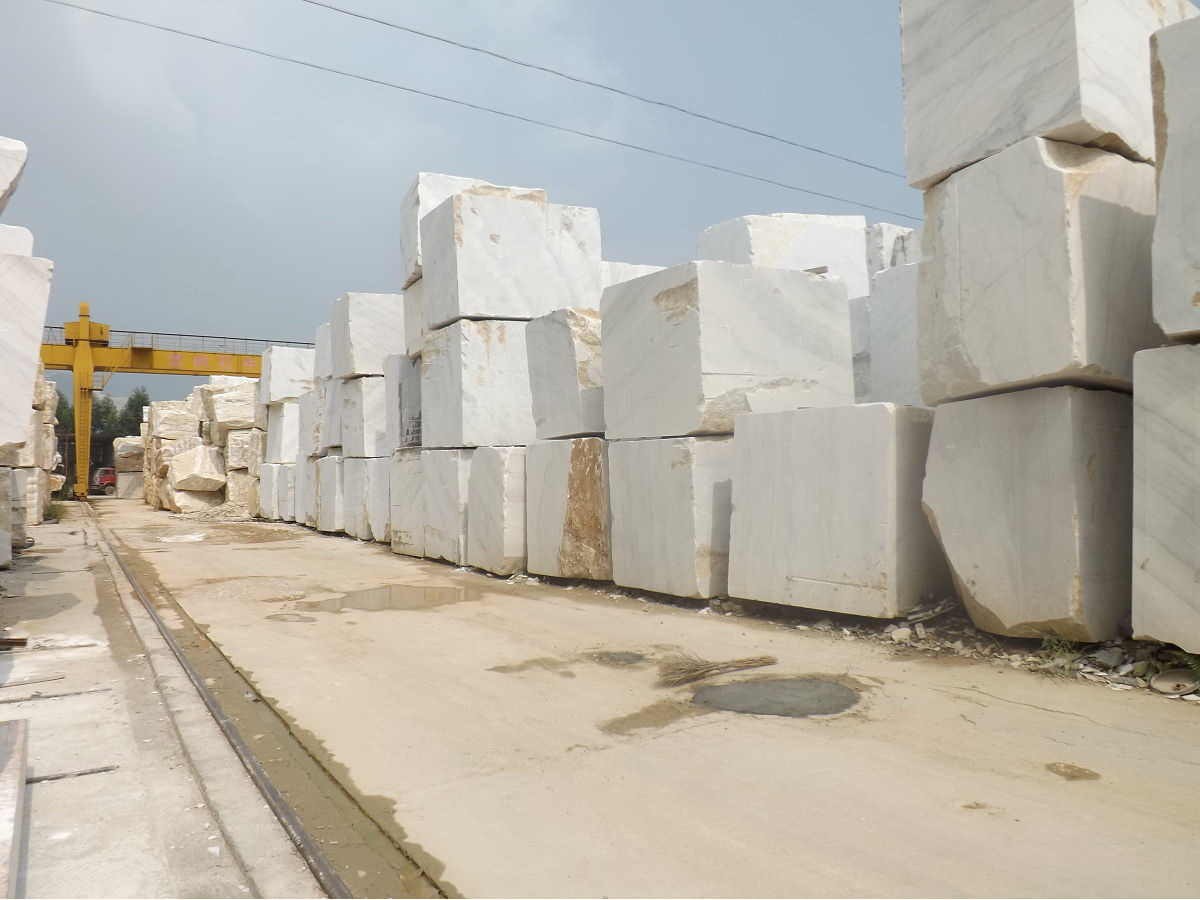 Guangxi White Chinese Marble Quarry (2)